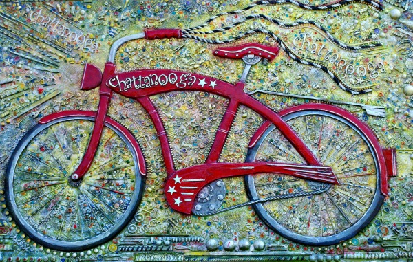 BikeSculpture.Chattanooga.4.12.LeisaHammett.com